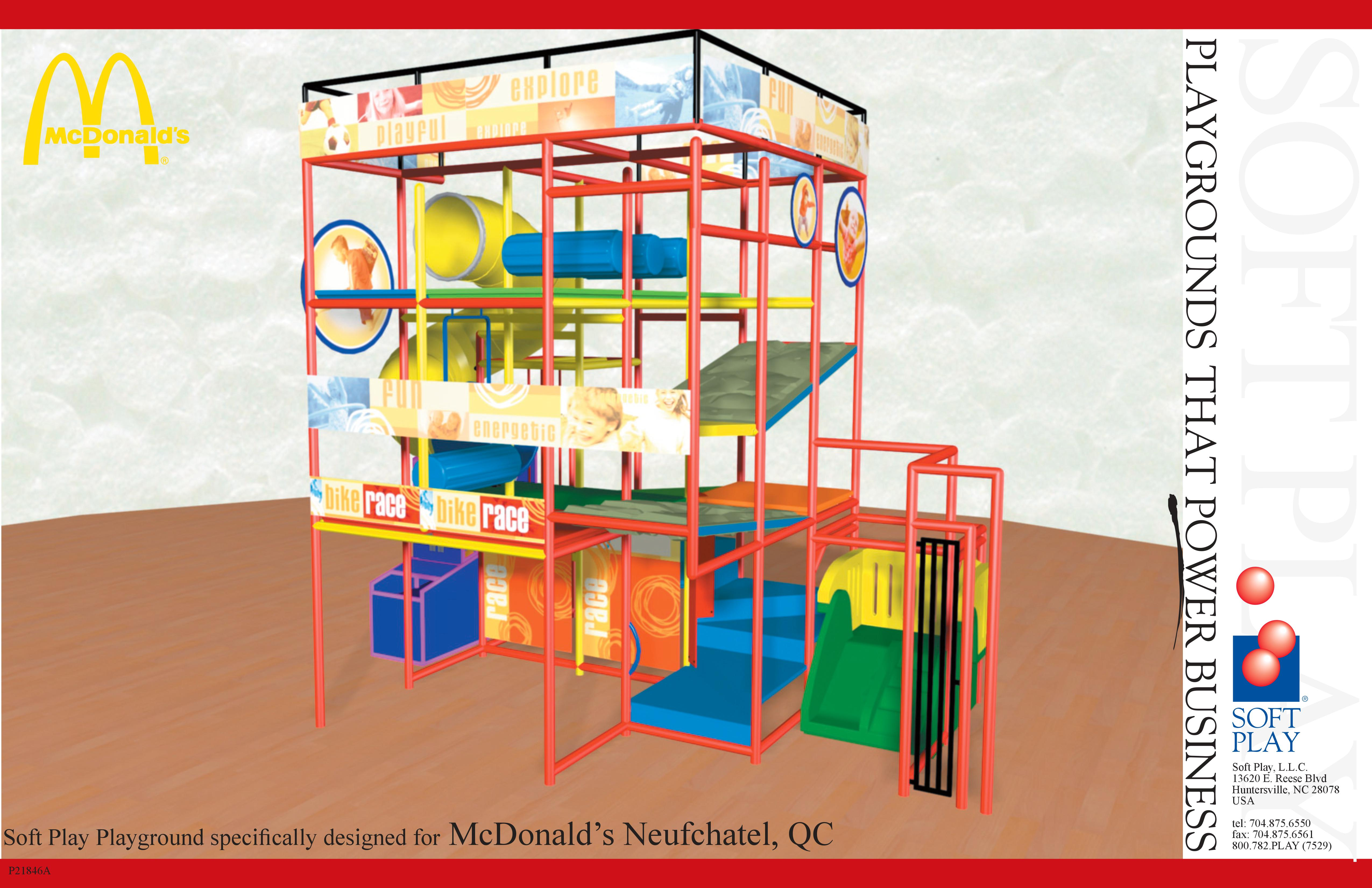 MULTILEVEL OBSTACLE COURSE